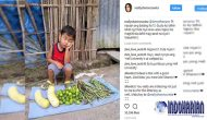 Permalink to Foto Bocah Berjualan Sayuran Sekejap Menjadi Viral, Gara-gara Dia…