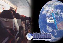 Video Viral Pesawat Bergoncang Dasyat Seperti Getaran Mesin Cuci