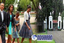 Obama dan keluarga Berkujung ke Bogor, Kebun Raya Bogor Ditutup, Ini Alasannya