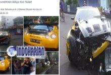 Nissan GT-R Nabrak, Diduga Karena Pamer Kecepatan?