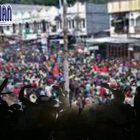Demo Masyarakat Jayapura Pecah, Kapolres dan Ajudan Menjadi Sasaran
