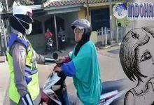 Dibalik Video Viral Emak Marahi Polwan, Terdapat Kisah yang Menyedihkan