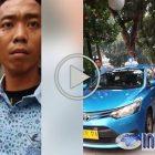 Video Viral!!! Sopir Taksi Parkir di Trotoar, Adu Mulut Dengan Koalisi Pejalan Kaki