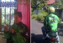 Kisah Viral Kebaikan Hati Driver Gojek yang Hebohkan Kota Manado