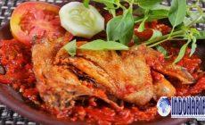 Permalink to Cara Mudah Membuat Ayam Goreng Sambal Merah, Hanya 30 Menit