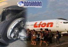 Lion Air Ngalami Pecah Ban Pesawat, Karena Sang Pilot…
