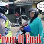 The Power Of Emak-emak!! Ibu Pengendara Motor Maki-maki Polwan