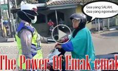 Permalink to The Power Of Emak-emak!! Ibu Pengendara Motor Maki-maki Polwan