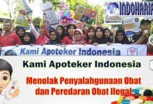 Gelar Aksi Damai Tolak Penyalahgunaan Obat Ilegal, Ribuan Apoteker di Surabaya Turun ke Jalan