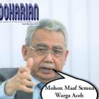 Ada Apa Nih? Kenapa Gubernur Aceh Minta Maaf Kepada Warga??